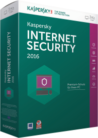 Internet Security 2016 3 Lizenzen Sierra Box (DE)