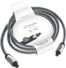 White Line Opto Cable 1,75m Banderole