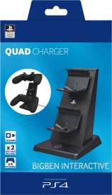 PS4 Quad Charger [Playstation Lizenz]