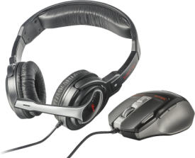 GXT 249 Gaming Headset & Mouse