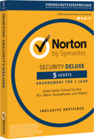 Norton Security 3.0 Deluxe 5User