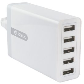 Reiselader 5x USB Port 8A Power