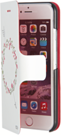 Bookcase FLORAL für iPhone 6/6S, arrow
