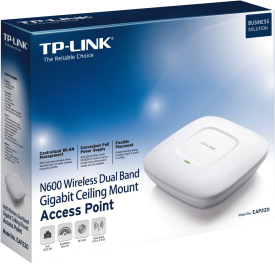 EAP220 N600 Wireless Dual Band Gigabit Access Point