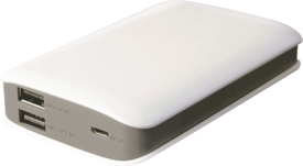 6.600 mAh Smart Powerbank
