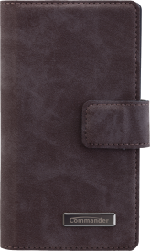 Book & Cover Sony Xperia Z5 Compact Nubuk