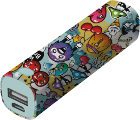 Tag PowerStick Portable Charger 2600 – graffiti objects