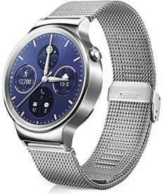 Watch W1 Stainless steel + Steel Mesh