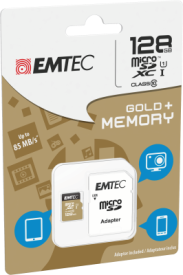 micro SD Class 10 Gold plus 128 GB