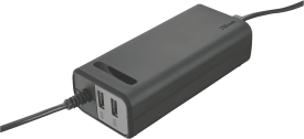 Duo 70W Laptop charger with 2 USB ports