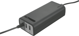 Duo 90W Laptop charger with 2 USB ports