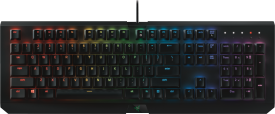 BlackWidow Chroma, German Layout