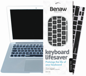 Lifesaver - Tastatur Skin für 13 Zoll MacBook/Pro/Air/Wirele