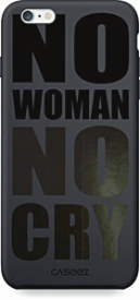 "Back Case ""No Woman No Cry"" iPhone 6/ 6S Glossy"
