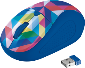 Primo Wireless Mouse geometry