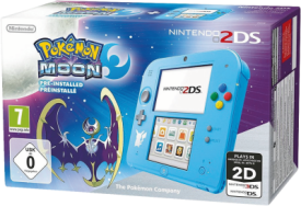 2DS HW Special Edition Pokémon Mond
