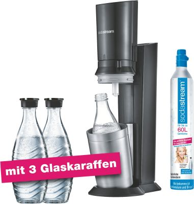 Crystal 2.0 Titan Aktionspack mit 3 Karaffen