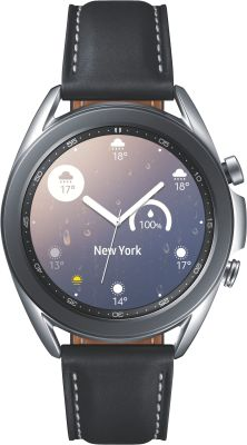 Galaxy Watch 3 41mm R850 Steel, schwarzes Armband