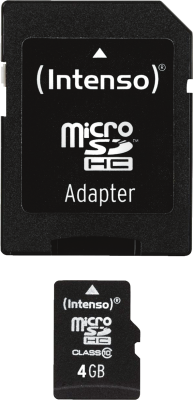 Micro SD Card 4GB Class 10 inkl. SD Adapter_0