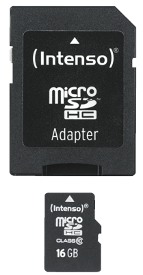 Micro SD Card 16GB Class 10 inkl. SD Adapter_0