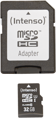 Intenso Micro SD Card 32GB UHS-I inkl. SD Adapter_0