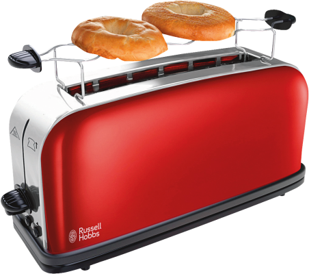 Colours Flame Red Langschlitz-Toaster_0