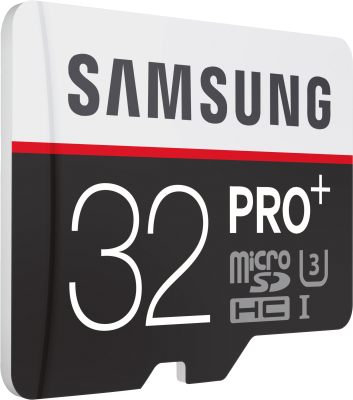 PRO+ 32GB micro SDHC Card 95MB/s + Adapter_0