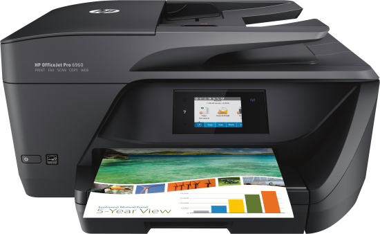 Hewlett Packard OfficeJet Pro 6960 e-All-in-One_0