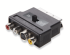 F8V3017CP COMPOSITE-S-VIDEO Adapter SCART-3xCinch-MINDIN4M