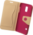 TREND BOOK CASE für Samsung G800 Galaxy S5 Mini Magenta