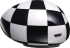 Mirror Compact Box Chequered Flag (PF328M)