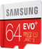EVO+ 64GB micro SDXC Card 80MB/s + Adapter