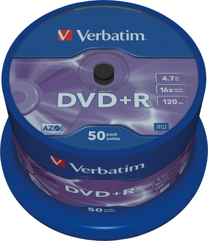 DVD+R 4,7GB 16X 50er SP