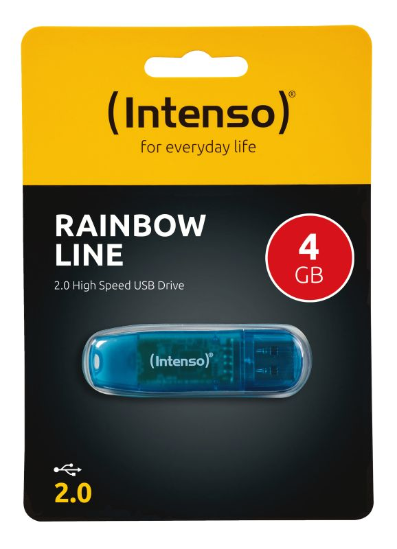 Rainbow Line 4GB USB Drive 2.0