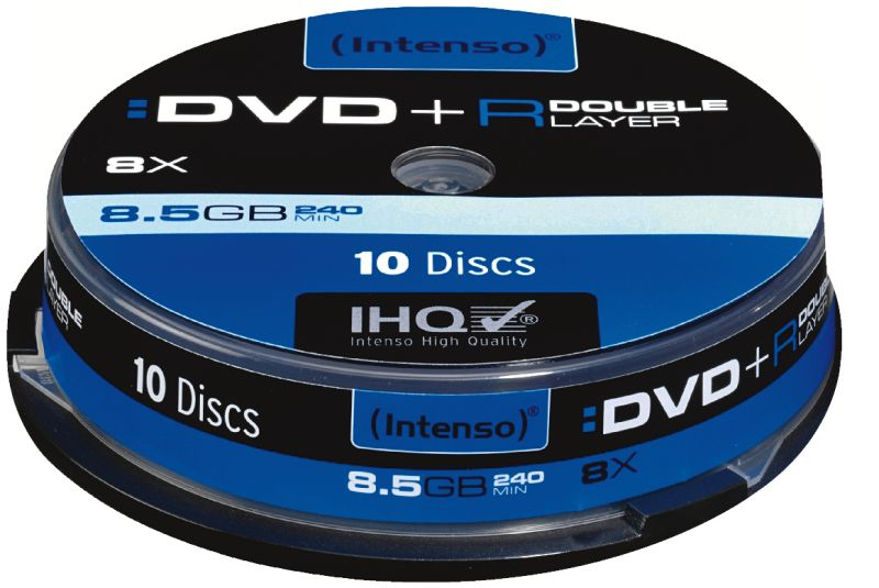 DVD+R 8,5GB 8x Double Layer Printable 10er Spindel