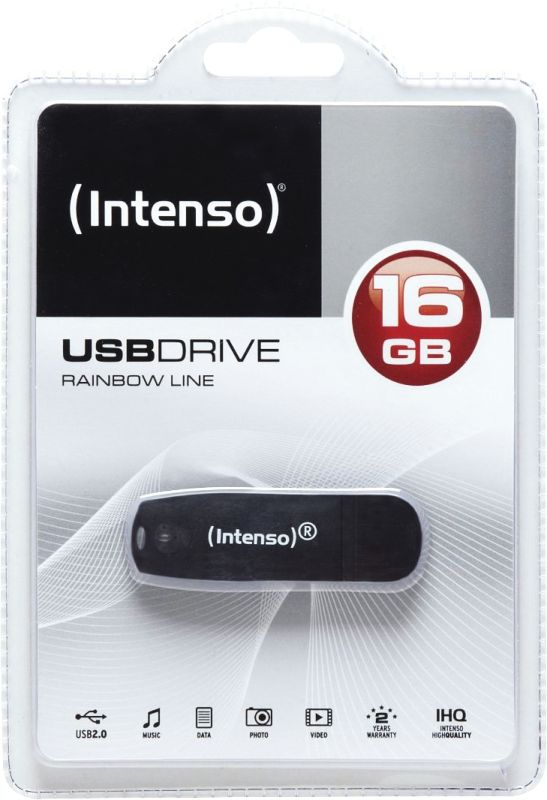 Rainbow Line 16GB USB Drive 2.0