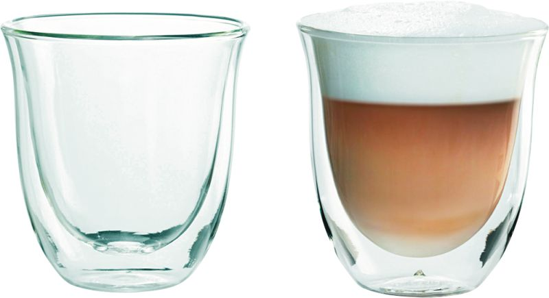 Cappuccino 2er Doppelwandiges Thermoglas
