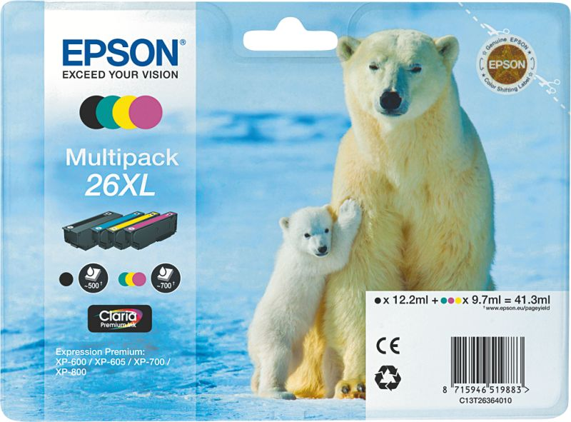 T2636 Multipack 26XL