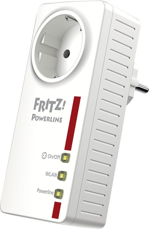 FRITZ!Powerline 546E (Einzeladapter)