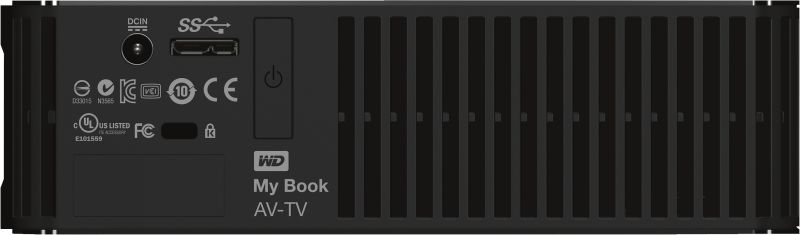 My Book AV-TV 1TB