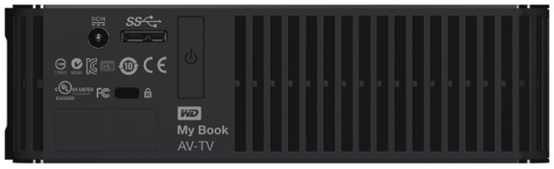My Book AV-TV 2TB