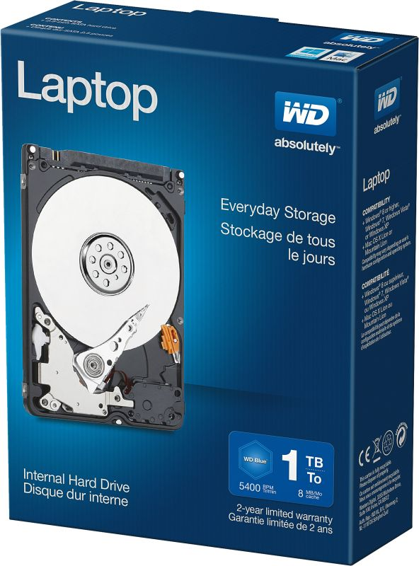 Laptop Everyday Hard Drives 1TB Retail