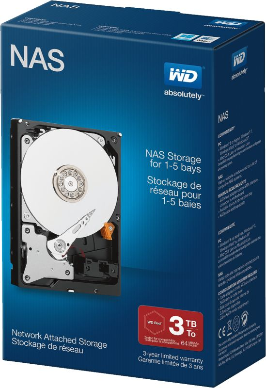WD Red Desktop 3TB Retail Kit