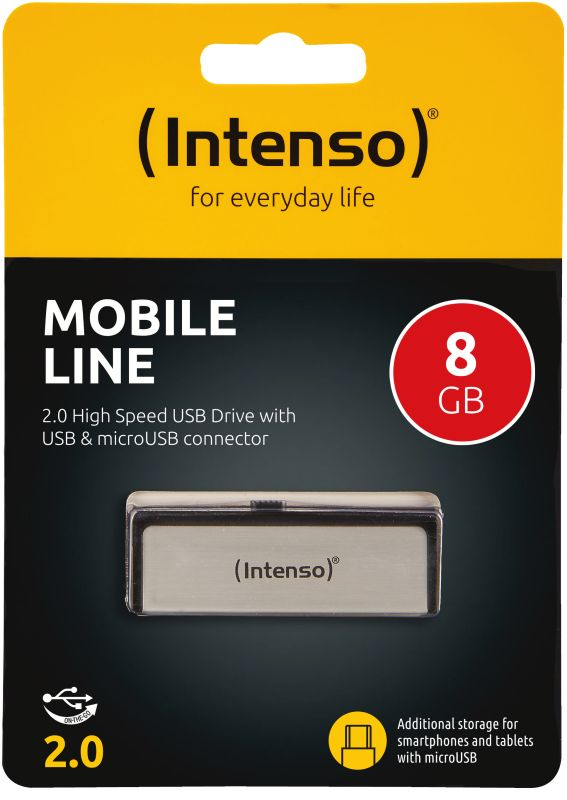 Mobile Line 8GB USB Drive 2.0
