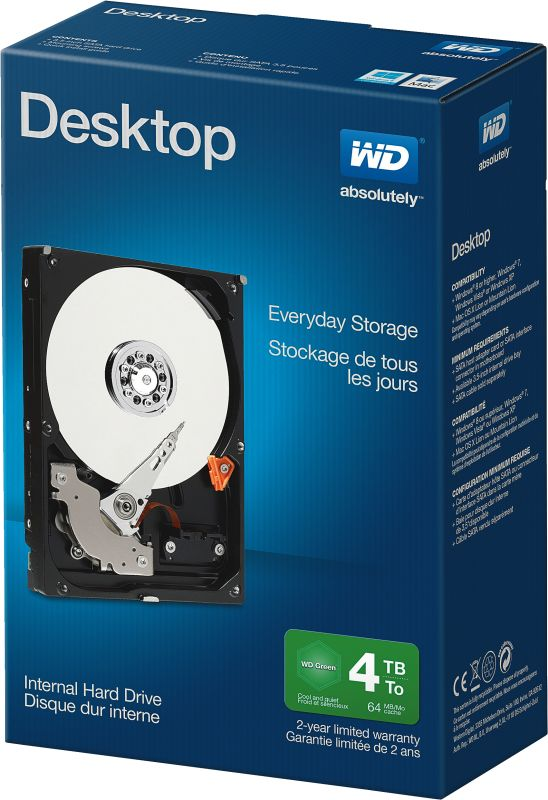 WD Blue Desktop 4TB Retail Kit