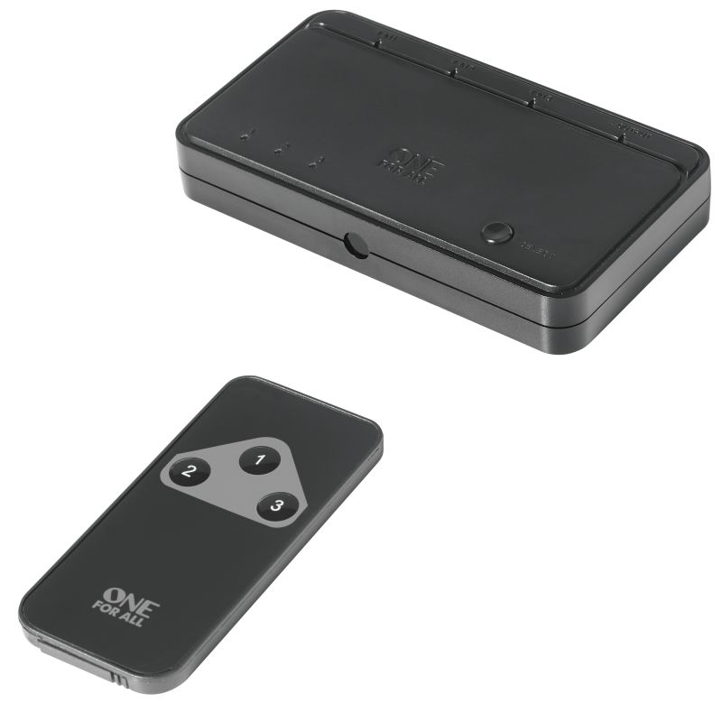 SV1630 HDMI Switcher 4K inkl. Fernbedienung