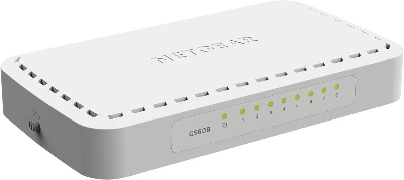 GS608-400PES 8-Port-Gigabit-Switch