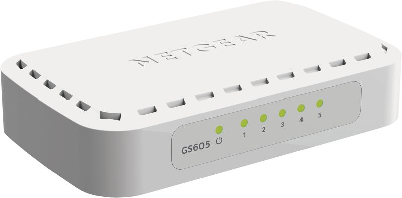 GS605-400PES 5-Port-Gigabit-Switch