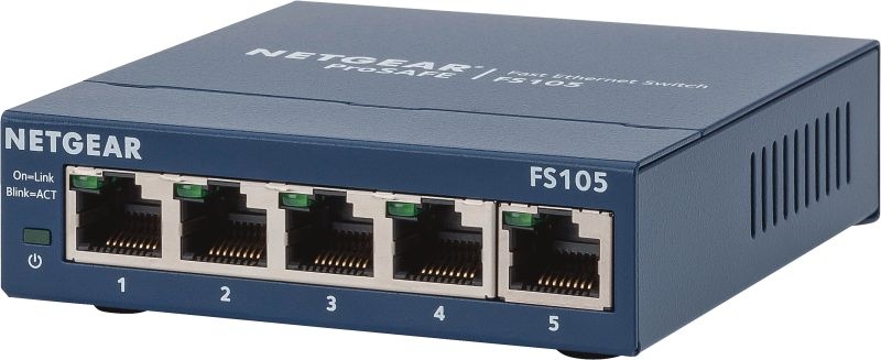 FS105-300PES 5-Port Switch ProSafe