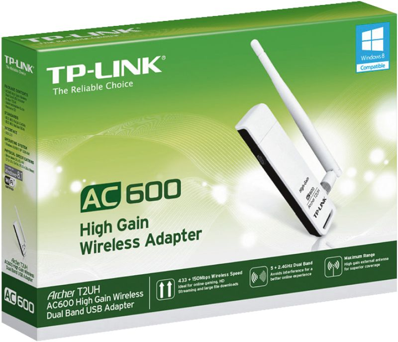 Archer T2UH AC600 WLAN Dual Band USB Adapter